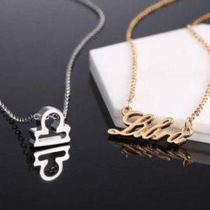 Jewelry - Libra Zodiac Constellation Necklace